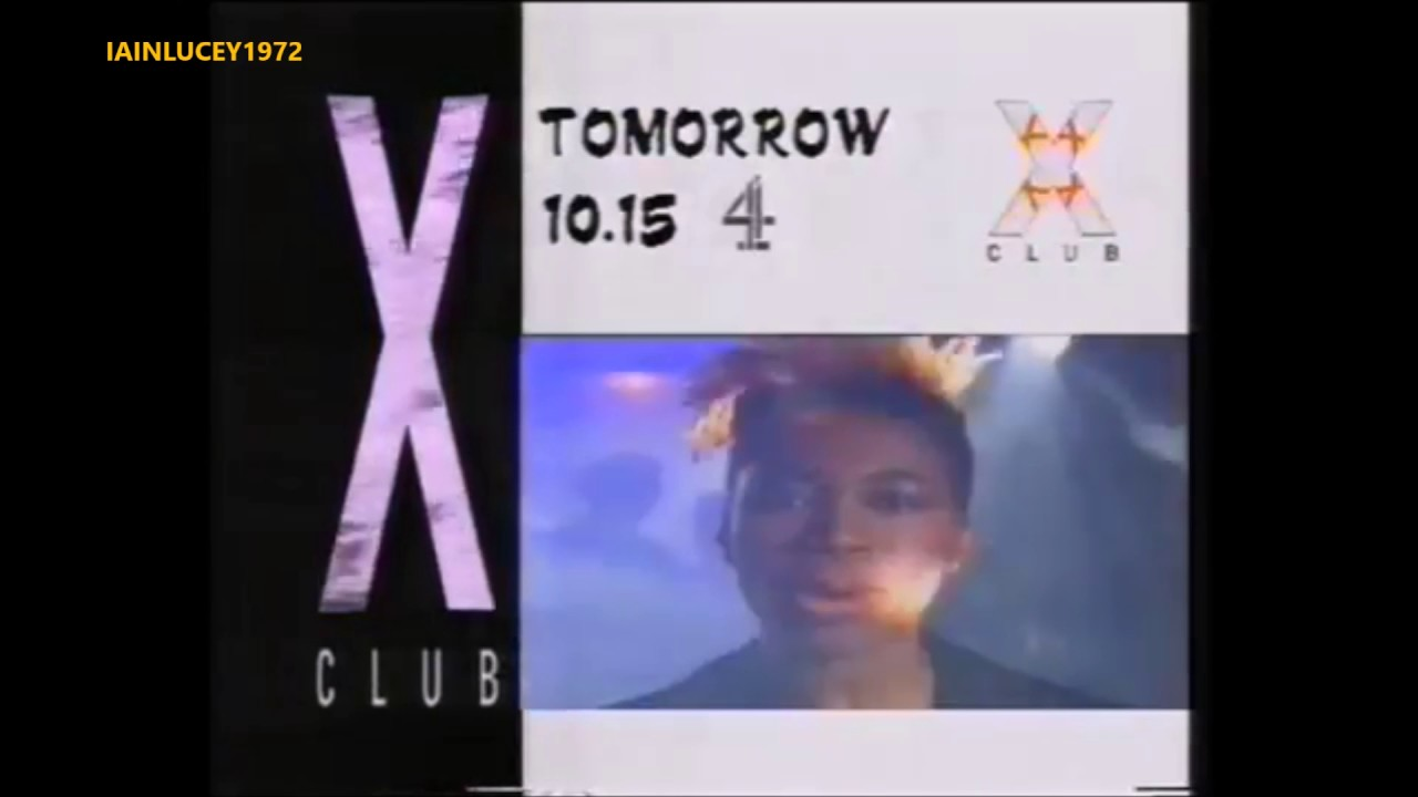 CHANNEL 4 TELEVISION UK 1989 CLUB X TRAILER arts programme ...