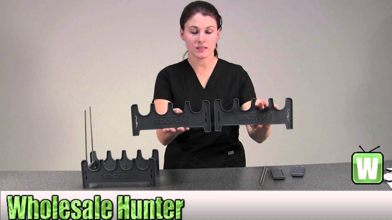stack on 4 position pistol rack spapr 4 unboxing