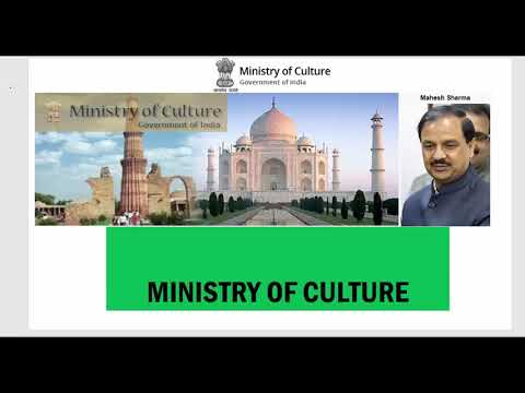 Ministry of culture revision for upsc 2018