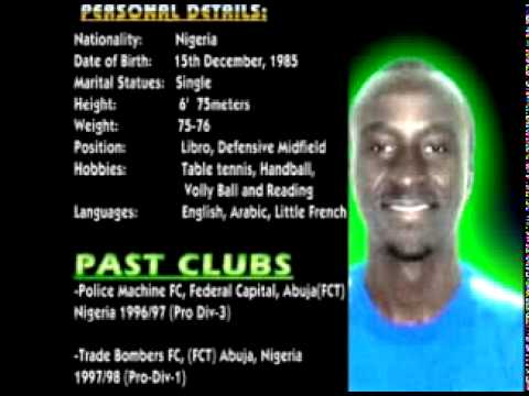 Daniel Arin Azi Football CV   YouTube  Soccer Player Resume