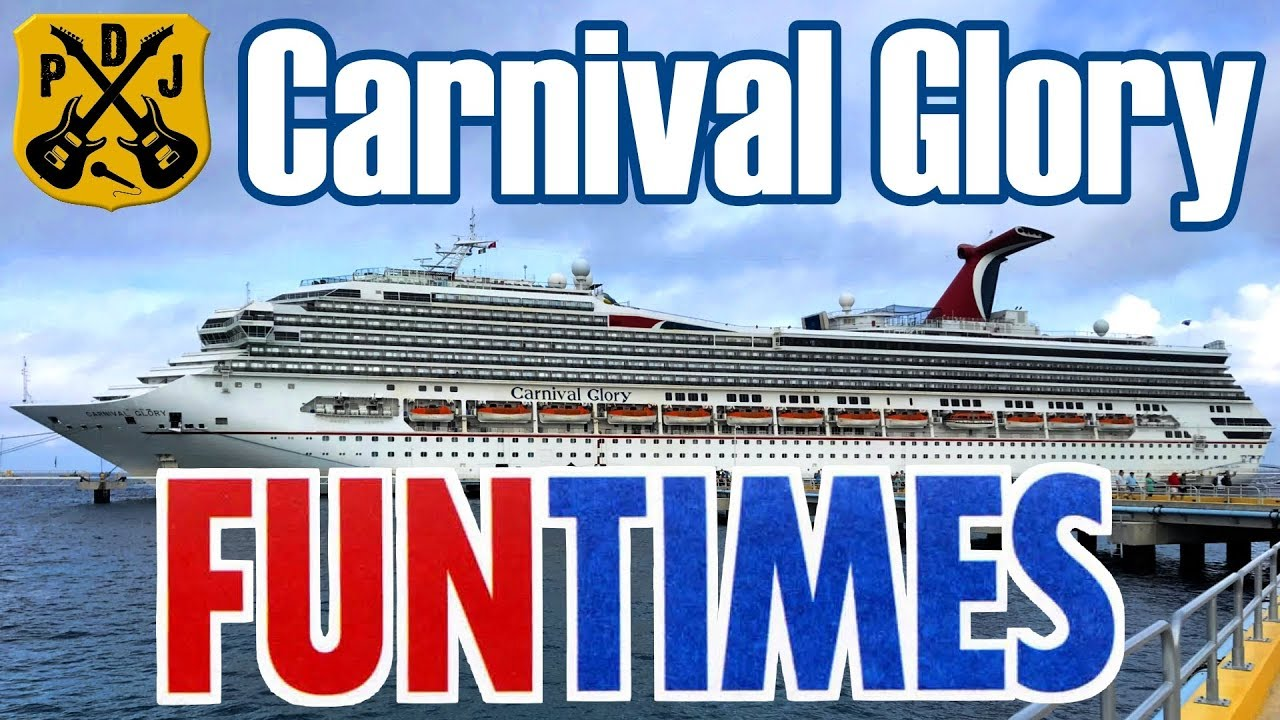 Carnival Glory Fun Times - Sept/Oct 2019 - Daily Schedules ...