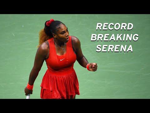 Serena Williams' Record Breaking 102 US Open Wins!