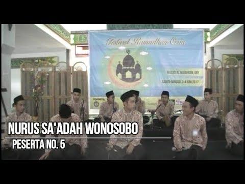 [JUARA 1] Hadroh NURUS SA'ADAH - Festival Ramadhan Ceria UNY 2017