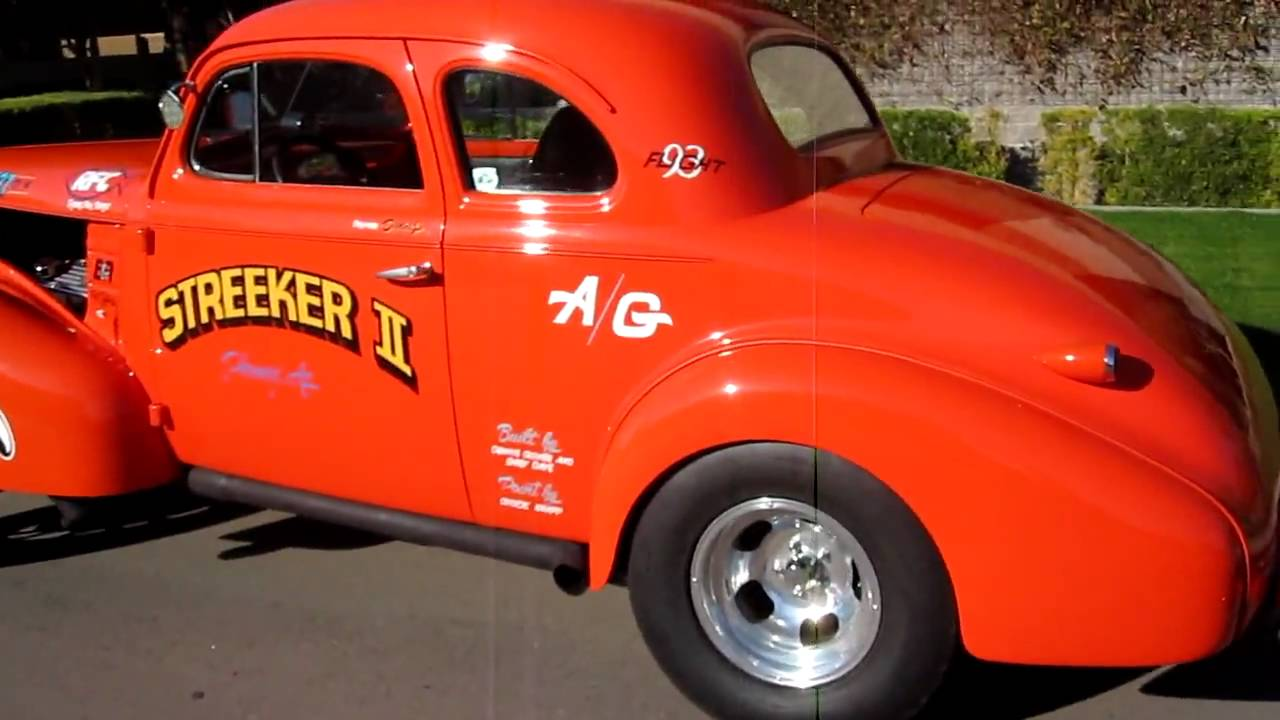 gasser coupe 1939 chevrolet