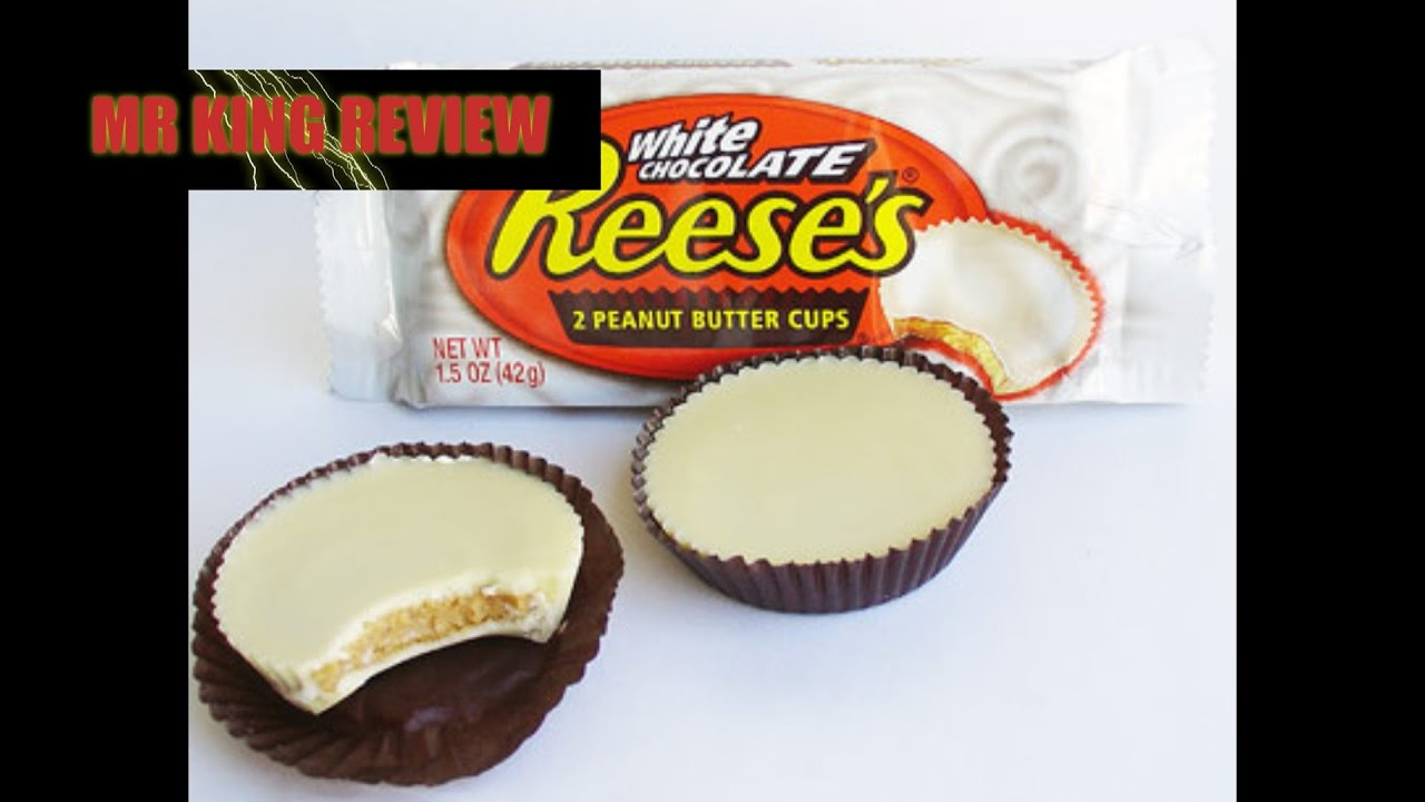 Reese's White Chocolate Peanut Butter Cups - YouTube