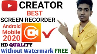 Best screen recorder for youtube creator on android mobile 2020