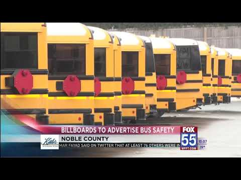 Billboards Will Tout School Bus Safety In NE Indiana County