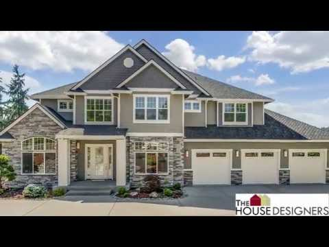 Tour of Traditional House Plan | THD-5893