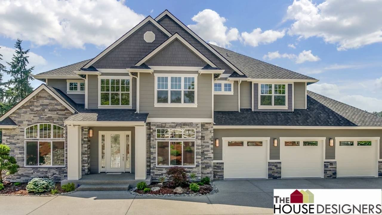 Tour Of Traditional House Plan | THD 5893. The House Designers