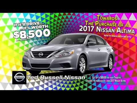 ted russell nissan - one day sale this saturday - youtube