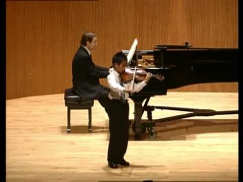 Kevin Zhu, age 9, plays Paganini's Violin Concerto No. 1 in D major, Op. 6