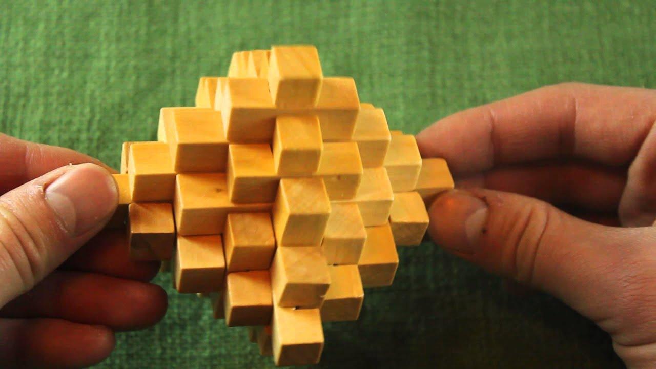 Инструкция по сборке деревянные головоломки