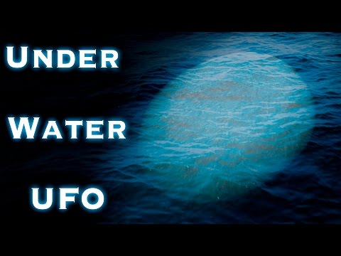 Top Secret USO (Unidentified Submerged Object) at Military Base - AKA Underwater UFO
