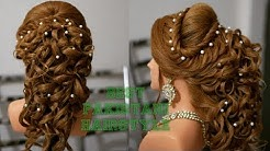 Muslim Engagement Hairstyle Hindu Sagan Hairstyle Open