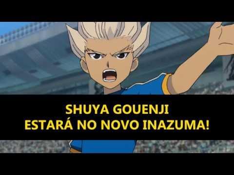 Inazuma Eleven (2018): GOUENJI SHUUYA ESTÁ CONFIRMADO!