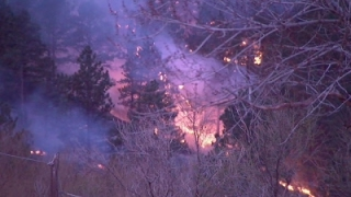 Wildfire Near Boulder About Half Contained