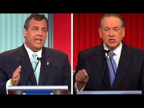 Christie and Huckabee debate entitlement reform | Fox News Republican Debate