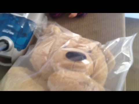 Vacuum Sealing Giant Teddy