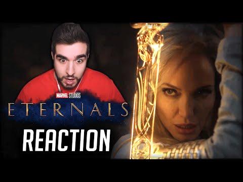 ETERNALS (Marvel) | REACTION al PRIMO TRAILER