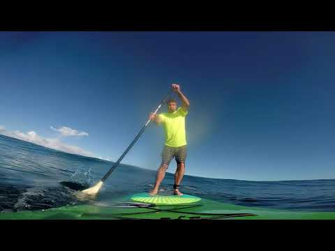 SUP Surfing on the North Shore of Oahu, December 2017 - 1080p