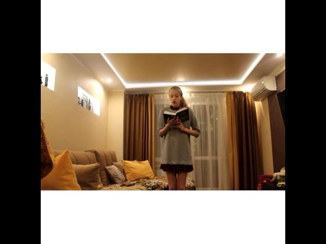 Изображение предпросмотра прочтения – АнастасияСизова читает произведение «Мне нравится, что Вы больны не мной...» М.И.Цветаевой