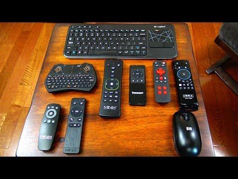Top 5 Farorite Remote Controls For Media Players