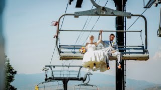Amazing Park City Wedding at Top of Ski Lift