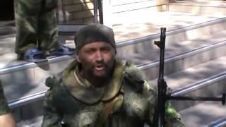 Подразделение Мотороллы Братья на войне Шахтерск ATO in Ukraine