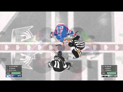 NHL 15 Los Angeles Kings Vs New York Rangers