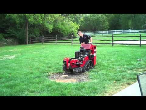 One Stop Rental: Using A Stump Grinder