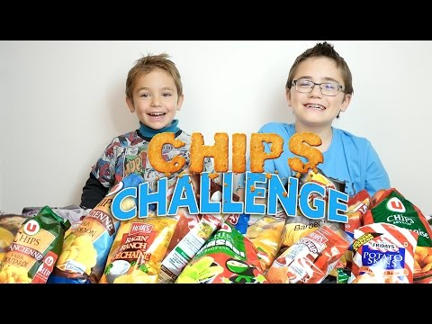 CHIPS CHALLENGE entre frères ! 17 GOÛTS ! Lay's, Bret's, Herr's, Ruffles, Friday's ...