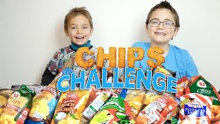 chips challenge entre frères 17 goûts lays brets herrs ruffles fridays
