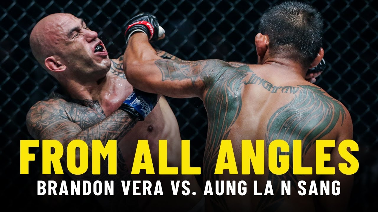 Aung La N Sang's Epic KNOCKOUT Of Brandon Vera | From All Angles