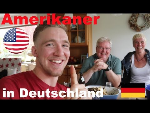 AMERICANS eat dinner with GERMAN FAMILY! (Germany Vlog)