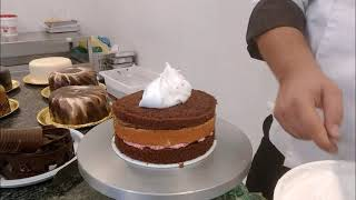 Torta Decorada, Chantilly, Decorando tortas