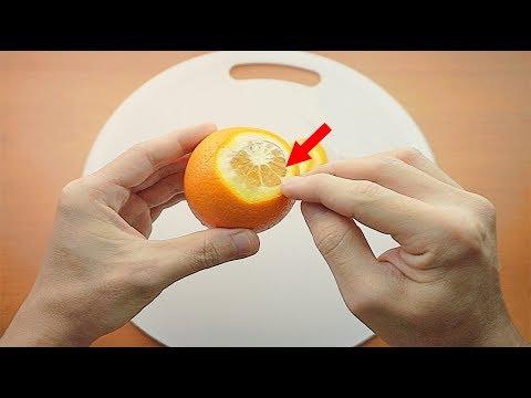 剝了30年橘子皮都剝錯了!教大家10秒快速剝橘子皮的妙招!原來橘子皮這樣剝才對!