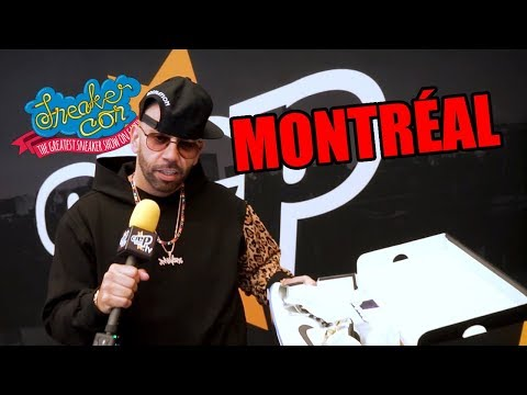 Here's What Happened at Sneakercon Montreal with Mayor - Crep Protect TV