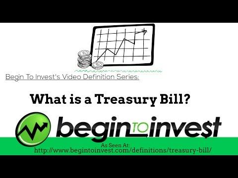 Treasury Bill - What Is A Treasury Bill? - Investing In T-Bills, How T-Bills Work