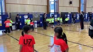 日本卓球界初!未来のメダリスト・卓球U-7 選手強化合宿 ダンス講習②