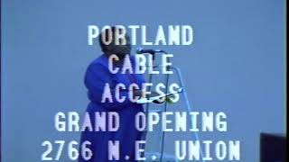 Grand Opening of the new Portland Cable Access facilities