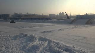 Зима в Астане  29 января  2016 год