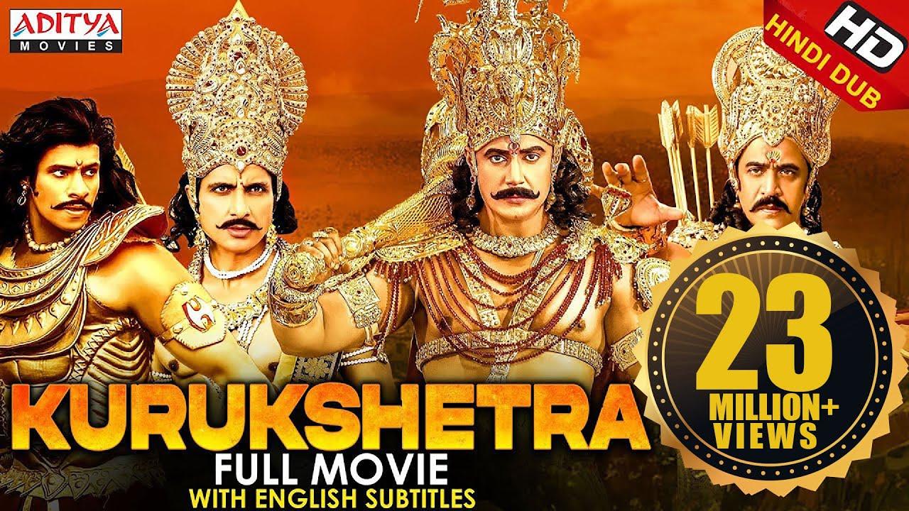 Download Kurukshetra (2021) New Hindi Dubbed Movie   Darshan, Nikhil, Sonu Sood, Arjun Sarja, Ambarish, Sneha