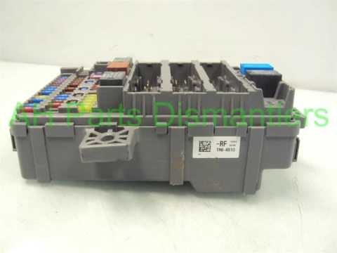 hqdefault 2012 honda civic lh dash fuse box 38200 tr0 a51 ahparts com used 2007 Honda Civic Fuse Box at edmiracle.co