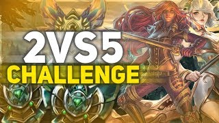 2  VS 5 CHALLENGE (vs Silver)