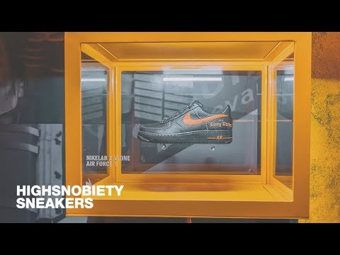 A$AP Bari Gives Us an Exclusive Tour of the VLONE x Nike Air Force 1 Pop-Up | Highsnobiety