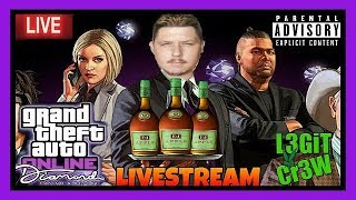 Grand Theft Auto V! Feeling Rough Tonight But Im Still In These GTA V Online Multiplayer Streets!