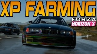 Forza Horizon 3 ULTIMATE XP FARMING METHOD (2.5M+ XP Per Hour)