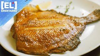 Камбала на Сковороде как Вкусно Пожарить Рыбу Как приготовить/Рецепт