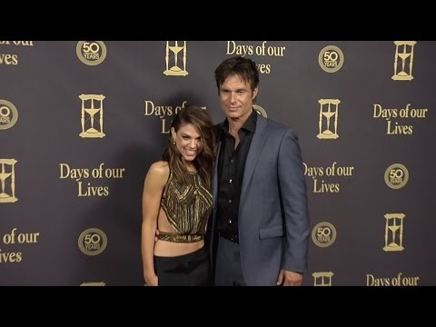 Patrick Muldoon & Kate Mansi Red Carpet Style at Days of Our Lives 50 Anniversary Party