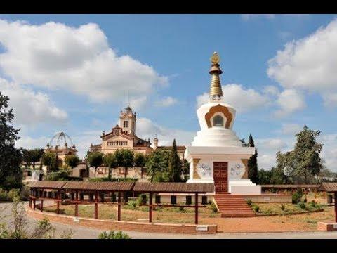 ruta garraf monasterio budista